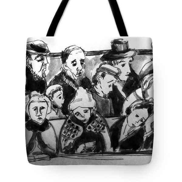 Worshippers Tote Bag