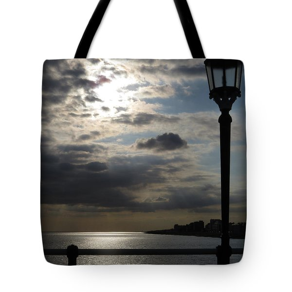 Worthing Seafront From The Pier Tote Bag