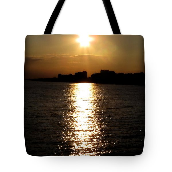 Worthing Sunset Tote Bag