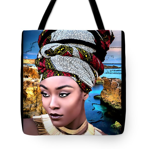 Worthy Is She Tote Bag