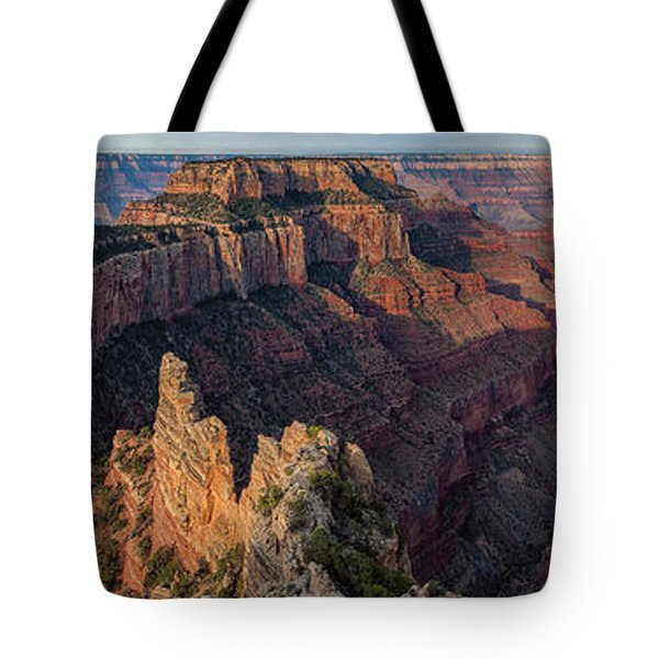 Wotan's Throne Panorama I Tote Bag