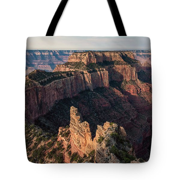Wotan's Throne Panorama II Tote Bag