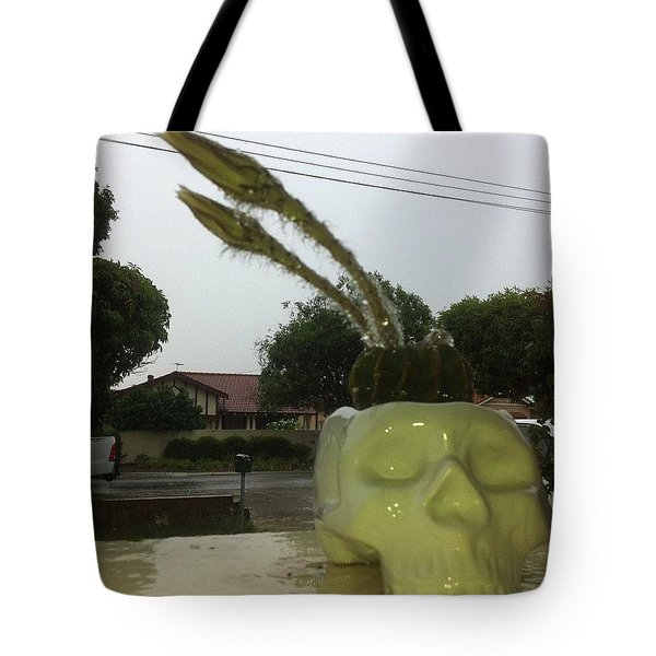 Rainy Summer Tote Bag