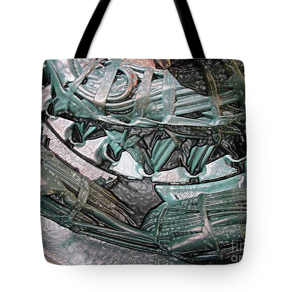 Wound Tight Tote Bag by Ron Bissett