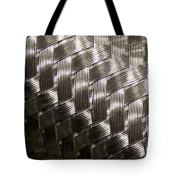 Woven Pipe Tote Bag