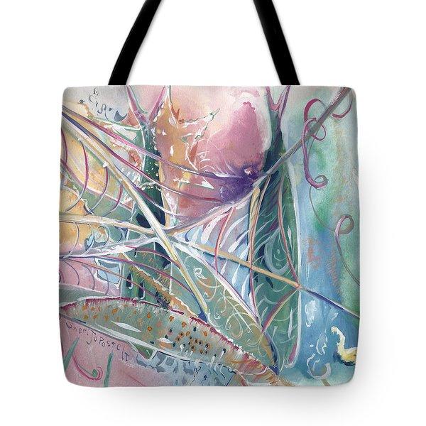 Woven Star Fish Tote Bag