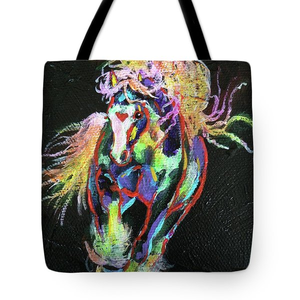 Wraggle Taggle Gypsy Cob Tote Bag by Louise Green