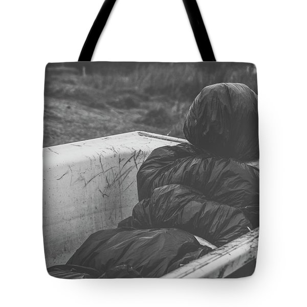 Wrapped Dead Body In Bath Tub, Csi Concept Tote Bag