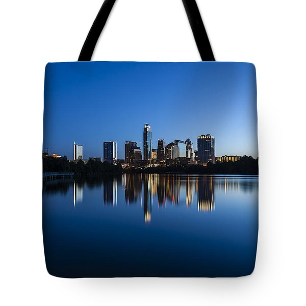Wrapped In Blue Tote Bag