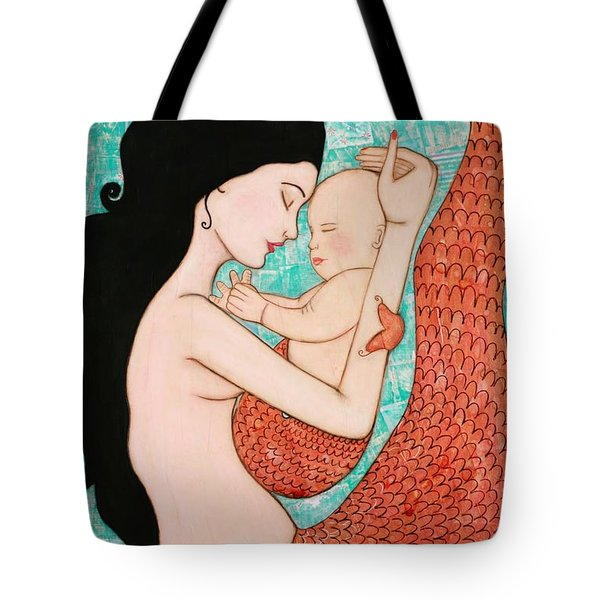 Wrapped In Love Tote Bag by Natalie Briney