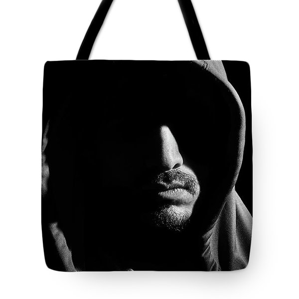Wrapped In Shadows Tote Bag
