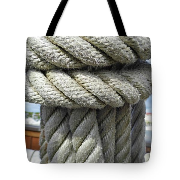 Wrapped Up Tight Tote Bag