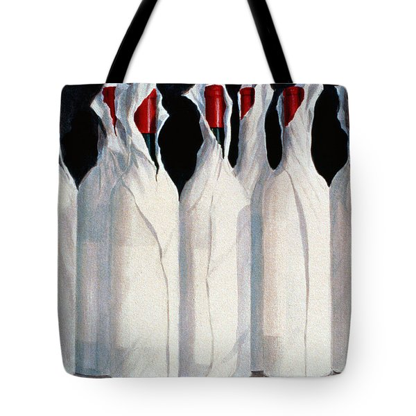 Wrapped Wine Bottles  Number One Tote Bag