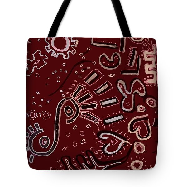 Wrapping Paper Tote Bag