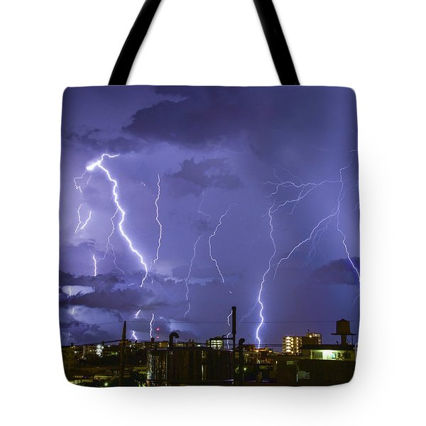 Wrath Of Gods Tote Bag