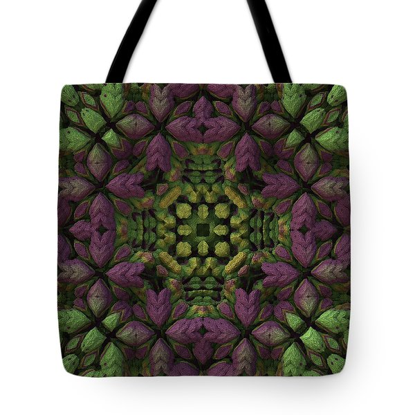 Tote Bag featuring the digital art Wreath by Lyle Hatch