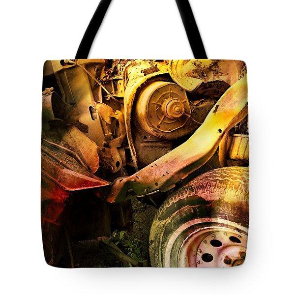 Wreck Close Up Tote Bag