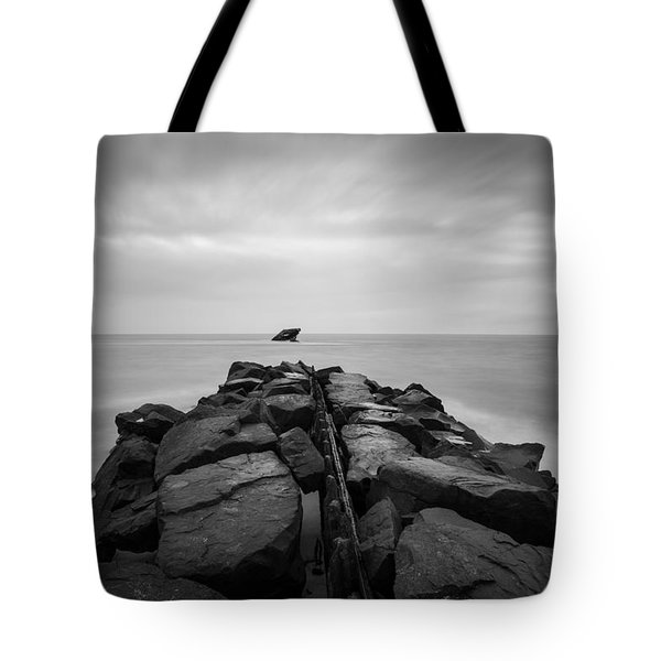 Wreck Of The Ss Atlansus Of Cape May Nj Tote Bag