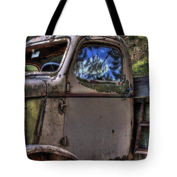 Wrecking Yard Study 4 Tote Bag