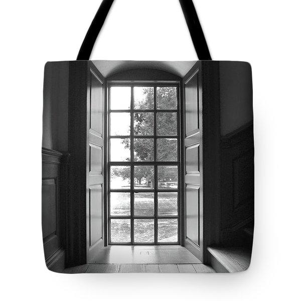 Wren Building Window Tote Bag