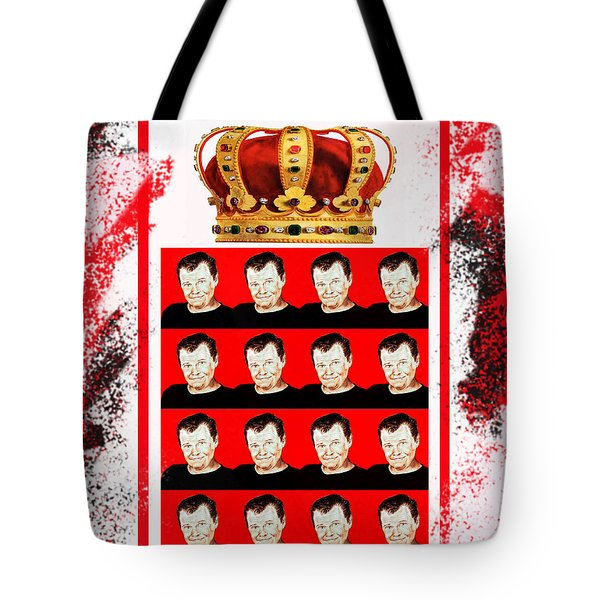 Wrestling Legend Jerry The King Lawler IIi Tote Bag