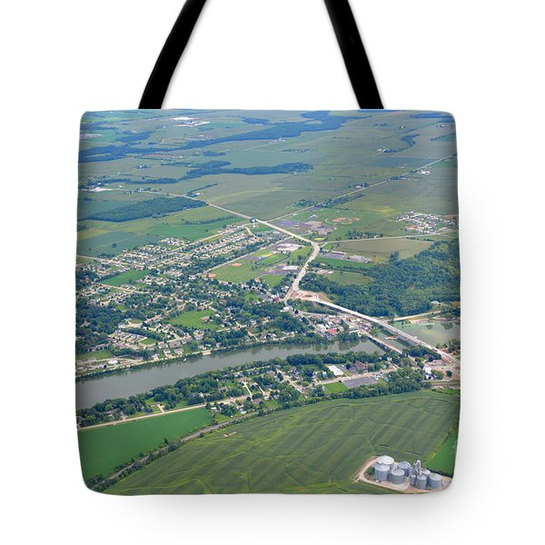 Wrightstown Wisconsin Tote Bag by Bill Lang