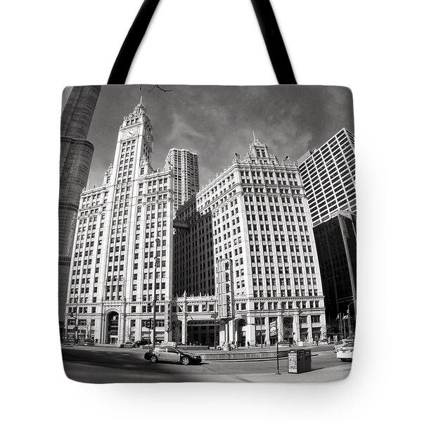 Wrigley Building - Chicago Tote Bag
