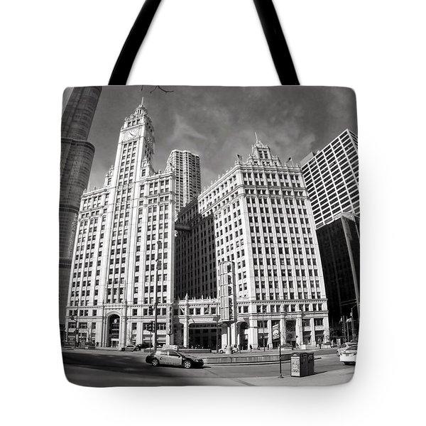 Wrigley Building - Chicago Tote Bag