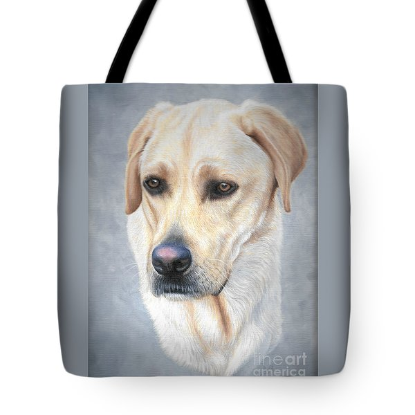 Tote Bag featuring the painting Wrigley by Mike Ivey