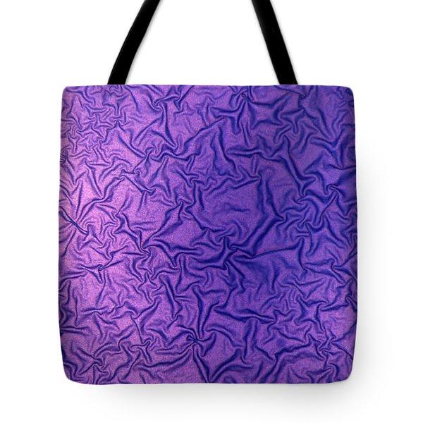 Purple Wrinkles Tote Bag