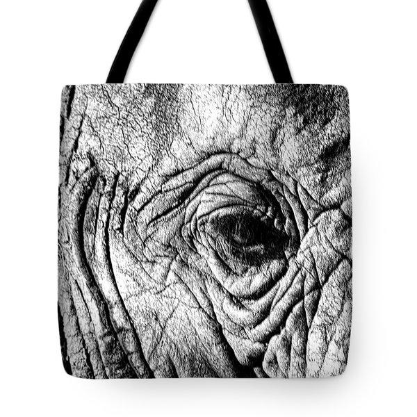 Wrinkled Eye Tote Bag