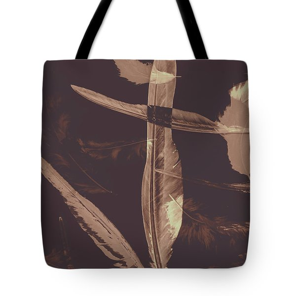 Writers Guild Abstract Tote Bag