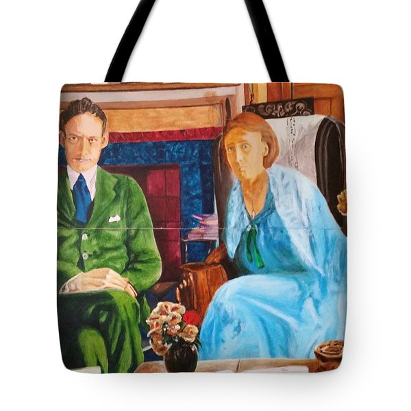 Writers I Tote Bag by Bachmors Artist