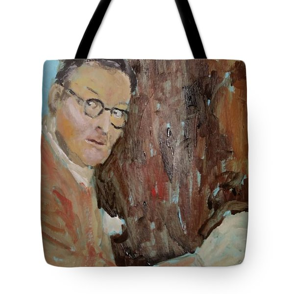 Writers I. Sketch Iv Tote Bag by Bachmors Artist