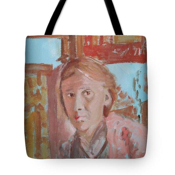Writers I. Sketch V Tote Bag by Bachmors Artist