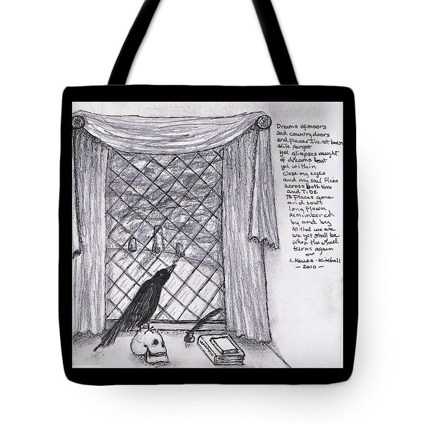 Writer's Veiw Tote Bag