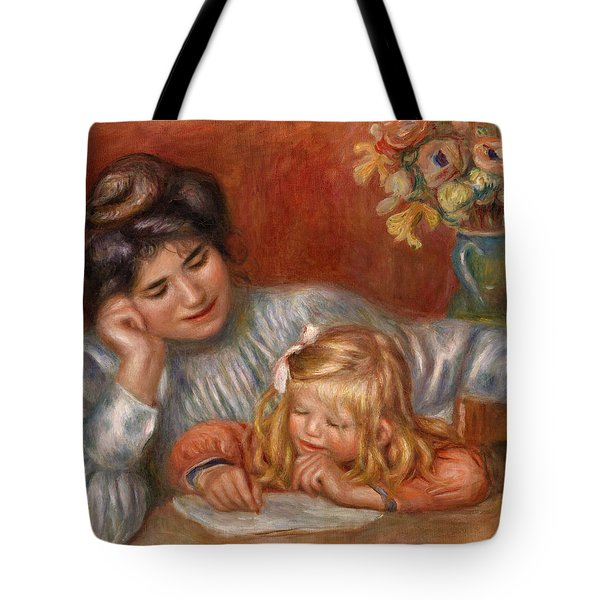 Writing Lesson Tote Bag