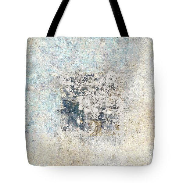 Writing On The Wall Number 5 Square Tote Bag