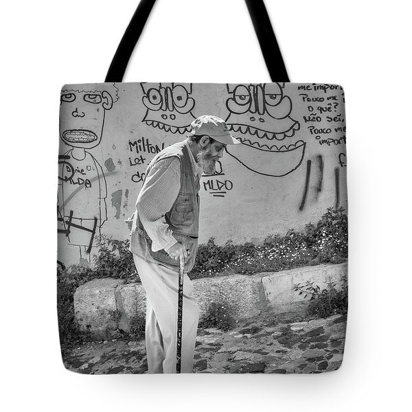 Tote Bag featuring the photograph Writing On The Wall by Patricia Schaefer