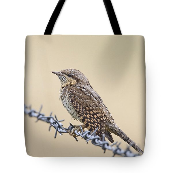 Wryneck On Wire Tote Bag