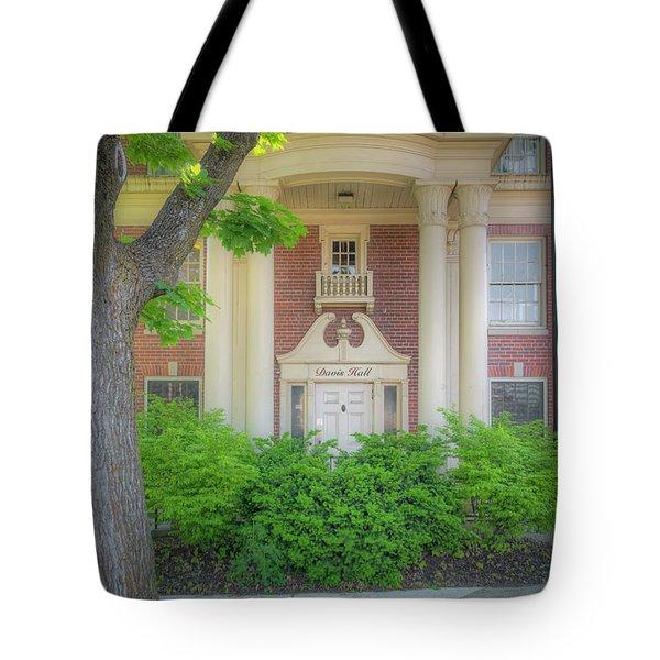 Wsu Davis Hall Tote Bag