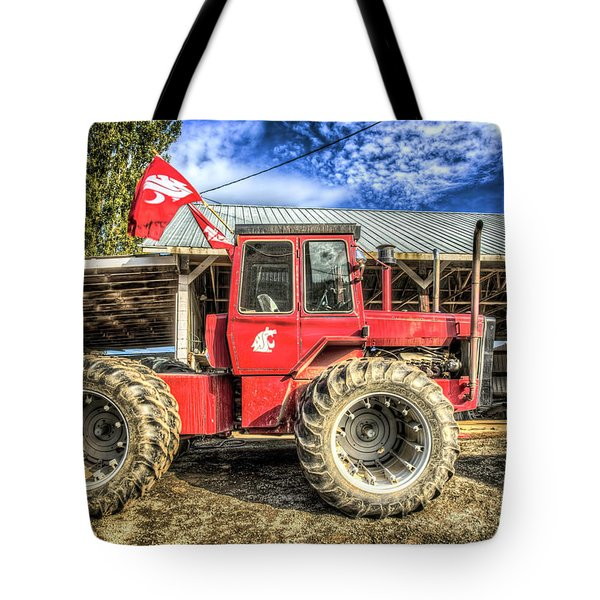 Wsu Tractor Tote Bag