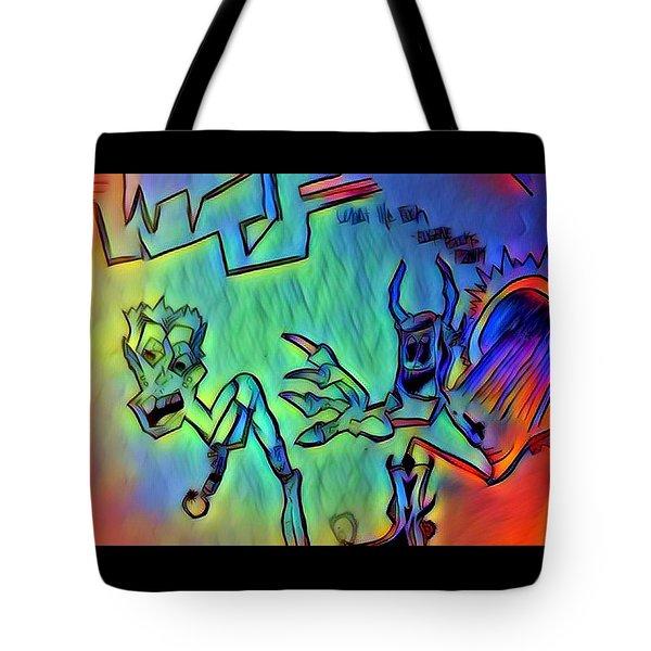 Wtf Eugene Bucks Tote Bag