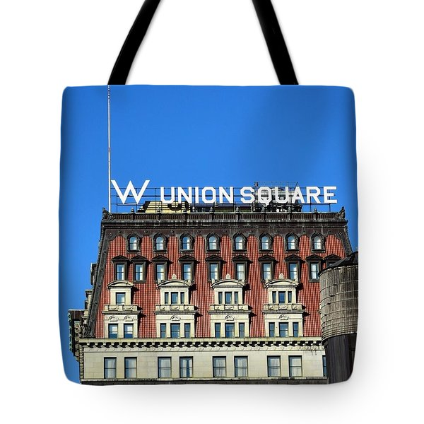 Wunion Tote Bag by Sandy Taylor