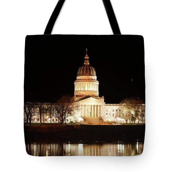 Wv Capital Building Tote Bag