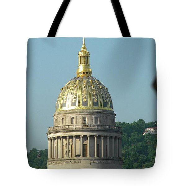 Wv State Capital Building  Tote Bag