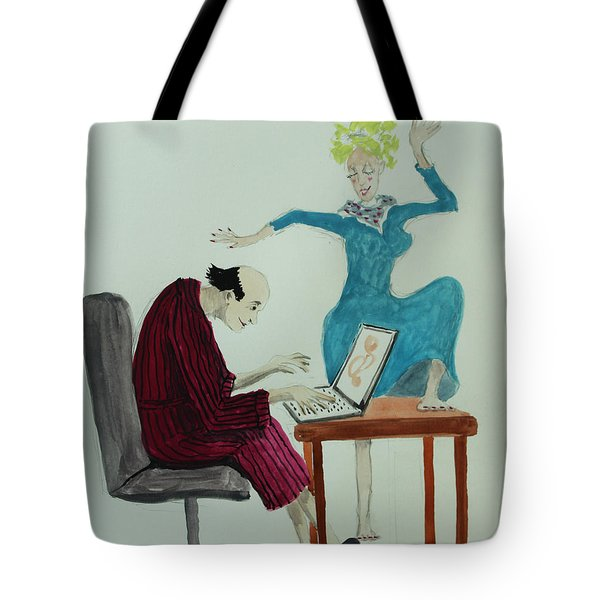 W've Got Rhtyhm Tote Bag by Tone Aanderaa