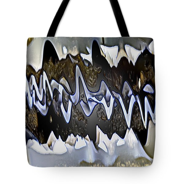 Wwaatteerr Tote Bag by Tom Cameron