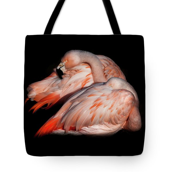 Tote Bag featuring the photograph When Two Become As One by Karen Wiles