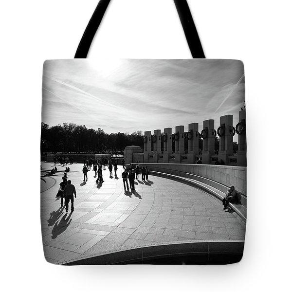 Wwii Memorial Tote Bag